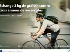 Séier, praktesch, gesond – Motivationskampagnen fürs Radfahren