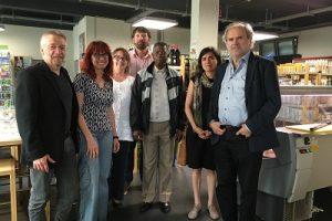 Visite éclair de Mathieu Savadogo (ARFA) au Luxembourg