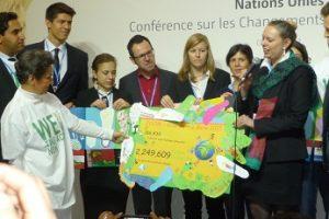 Remise officielle des « Gréng Meilen » européennes dans le cadre de la COP21