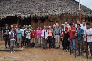 Une série de manifestations sur le sujet du voyage d'études du KB en Equateur