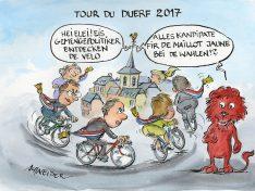17.09 – 7.10.2017 : 36 Gemeinden am Start der diesjährigen TOUR du DUERF!