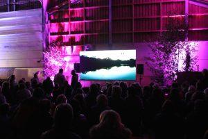 Scheunen-Kino « Der Gesang der Blume » in Koerich