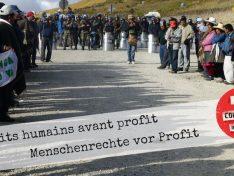 Start der Kampagne « No corporate impunity – Menschenrechte vor Profit »