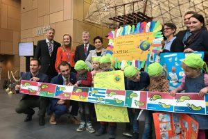 Grüne Meilen – Übergabe auf der Klimakonferenz in Bonn
