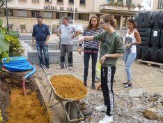 """""""Jugendsolar"""": eine tolle und lehrreiche gemeinsame Initiative von Greenpeace, dem Schifflinger Jugendhaus und der Gemeinde"""