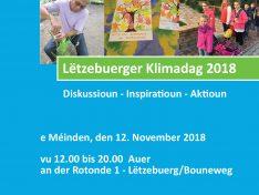 Lëtzebuerger Klimadag 2018: Impressiounen – Foto'en – Virtreeg