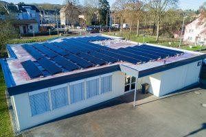 Schuttrange: la première installation photovoltaïque de la coopérative «Enercoop Syrdall» est raccordée au réseau