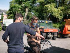 """Start des Pilotprojektes """"Cargobikes für Betriebe und kommunale Einrichtungen"""""""