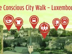 The Conscious City Walk Luxembourg im Juli