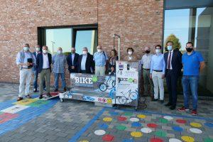 Station de lavage mobile pour vélos à Mamer