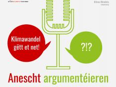 """Podcast """"Anescht argumentéieren – Um Stamminee"""""""