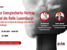 Webinar: Der Energiecharta-Vertrag und die Rolle Luxemburgs (DE/FR)