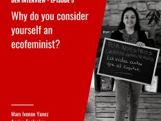 """Podcast """"Anescht Liewen"""": Interview mam Ivonne Yanez vun Acción Ecológica am Ecuador"""