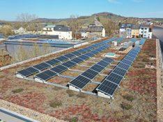 Nouvelle installation photovoltaïque sur la Maison-relais «An der Dällt» à Munsbach