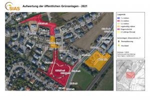 Le plan des espaces verts de Schuttrange