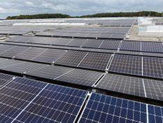 Contern: Mega-Photovoltaikanlage auf den Hallen 2 und 3 von Kuehne&Nagel in unserer Industriezone
